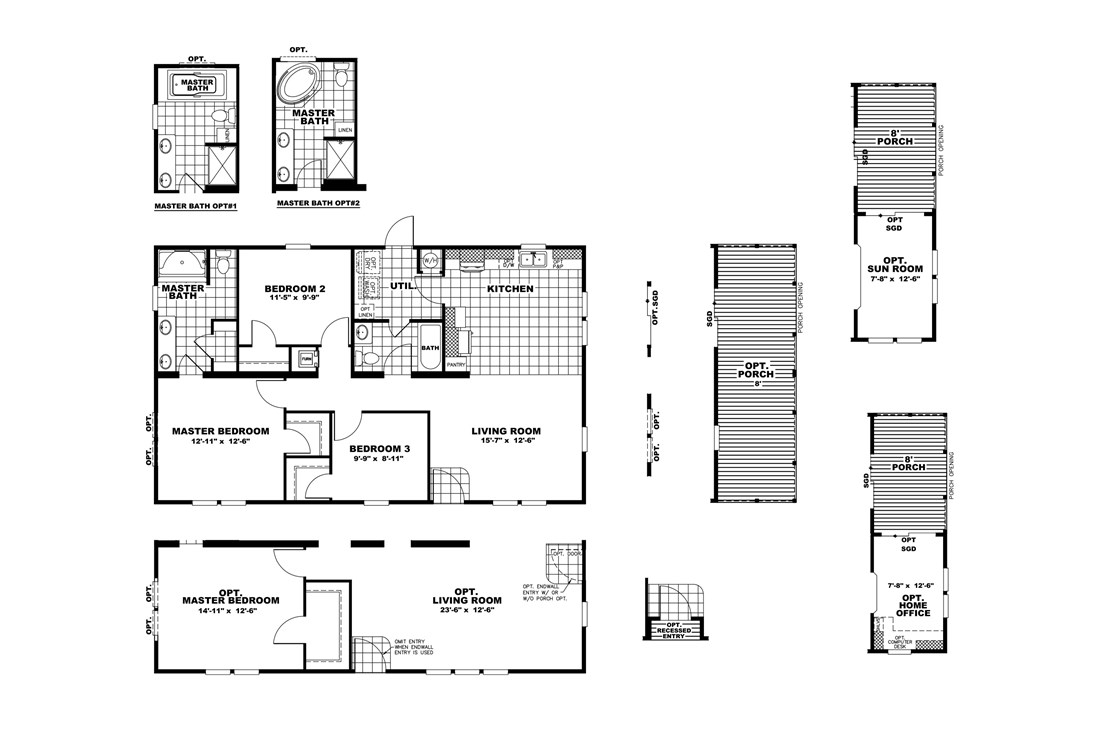 The THE HOGAN 28 Floor Plan