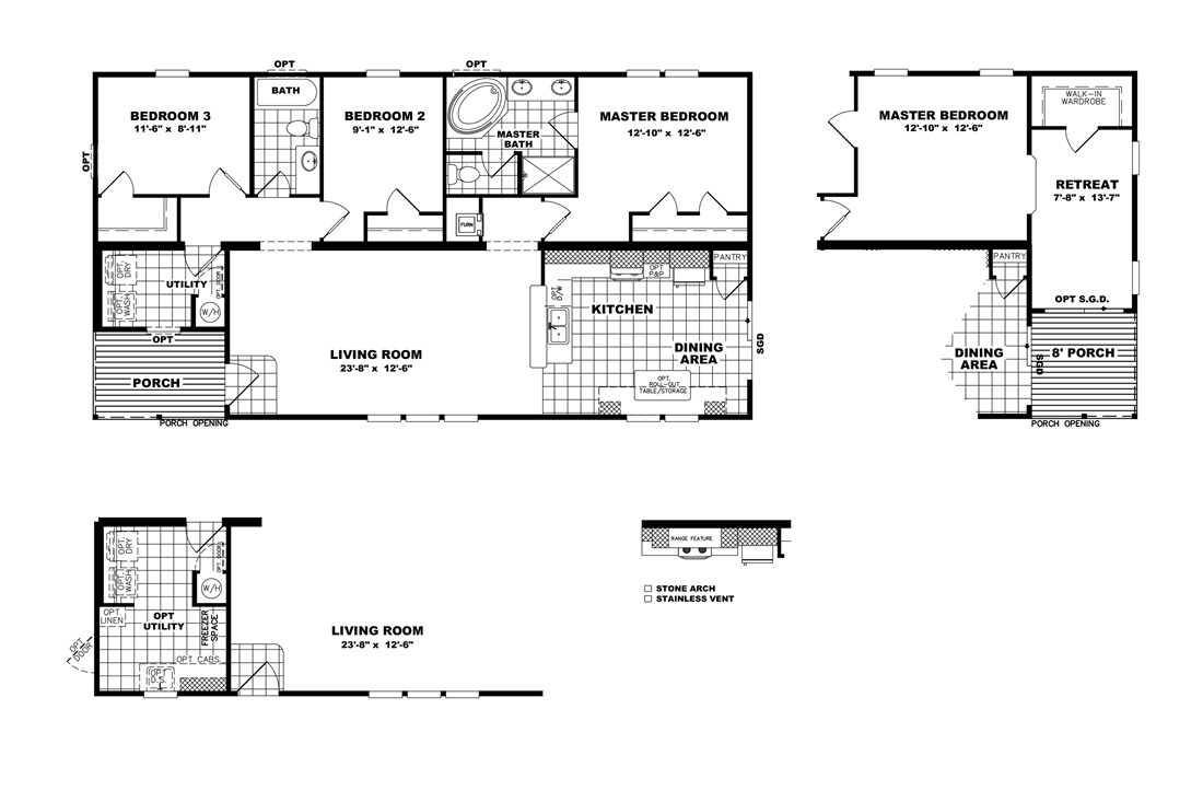The THE LEXINGTON 28 Floor Plan