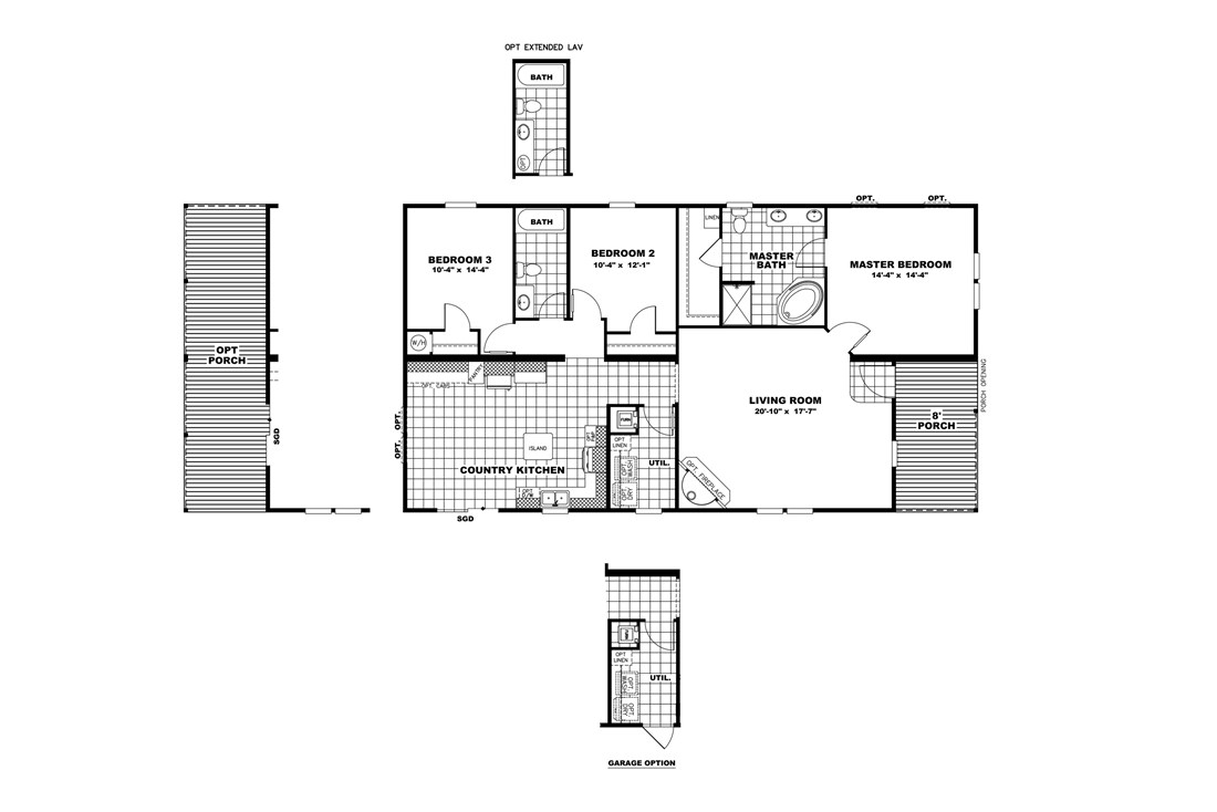 The THE PLAYER 32 Floor Plan