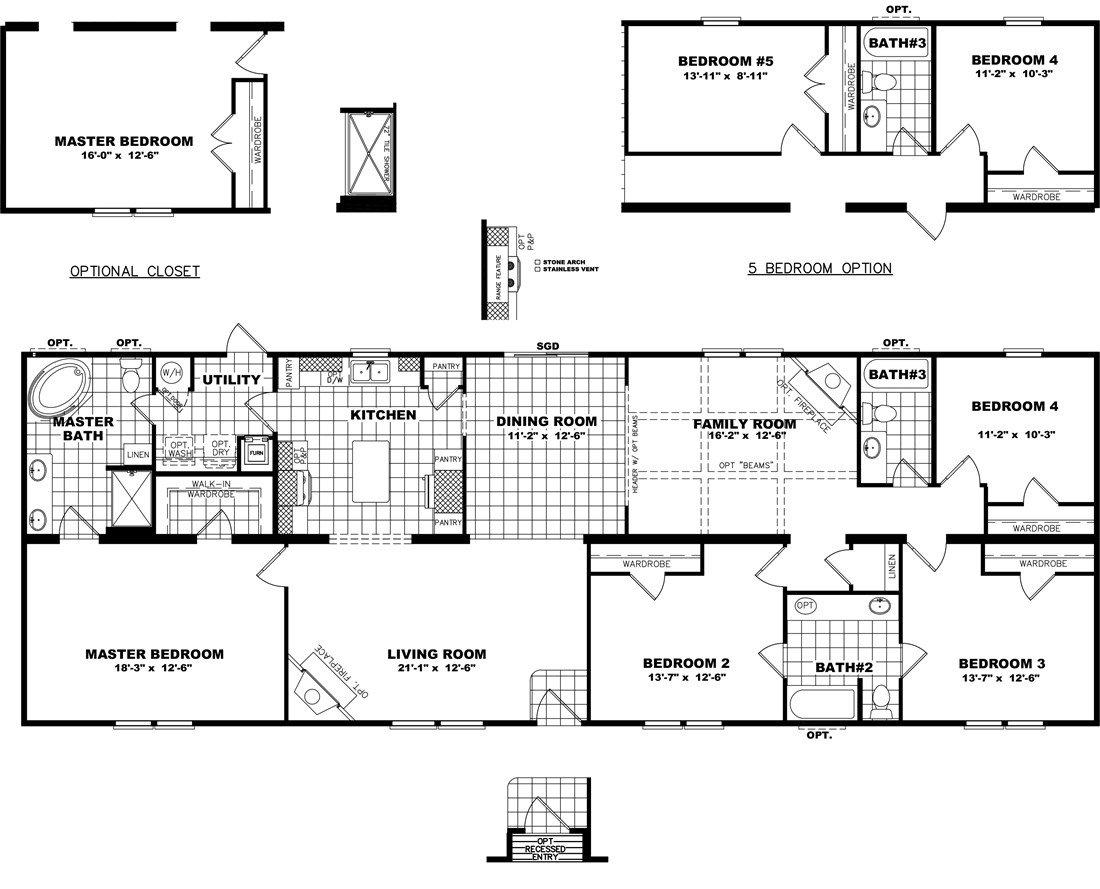 The THE MISSISSIPPI 28 Floor Plan