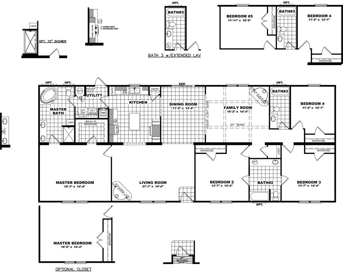 The THE MISSISSIPPI 32 Floor Plan