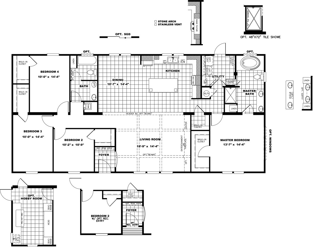 The THE PHOENIX Floor Plan